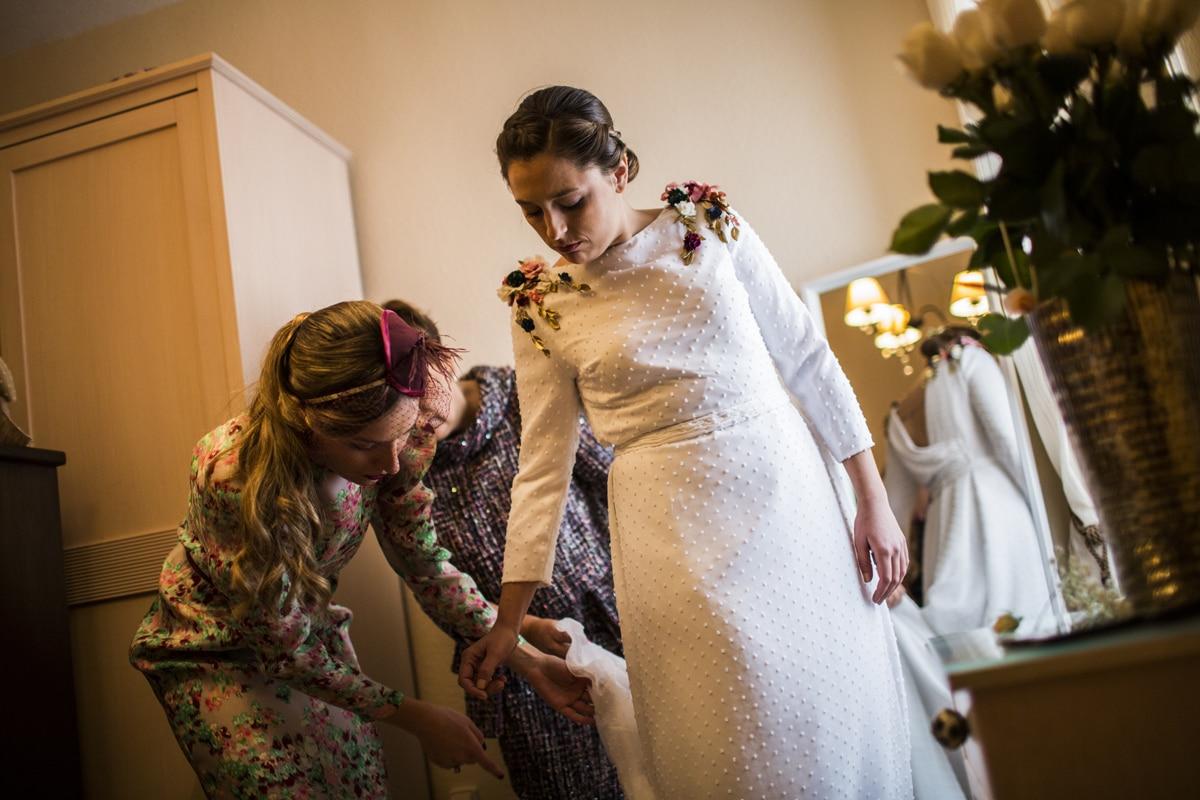 Reportaje de boda de Rafa y Maria en la iglesia de San Sebastián, Fotografo de bodas 19