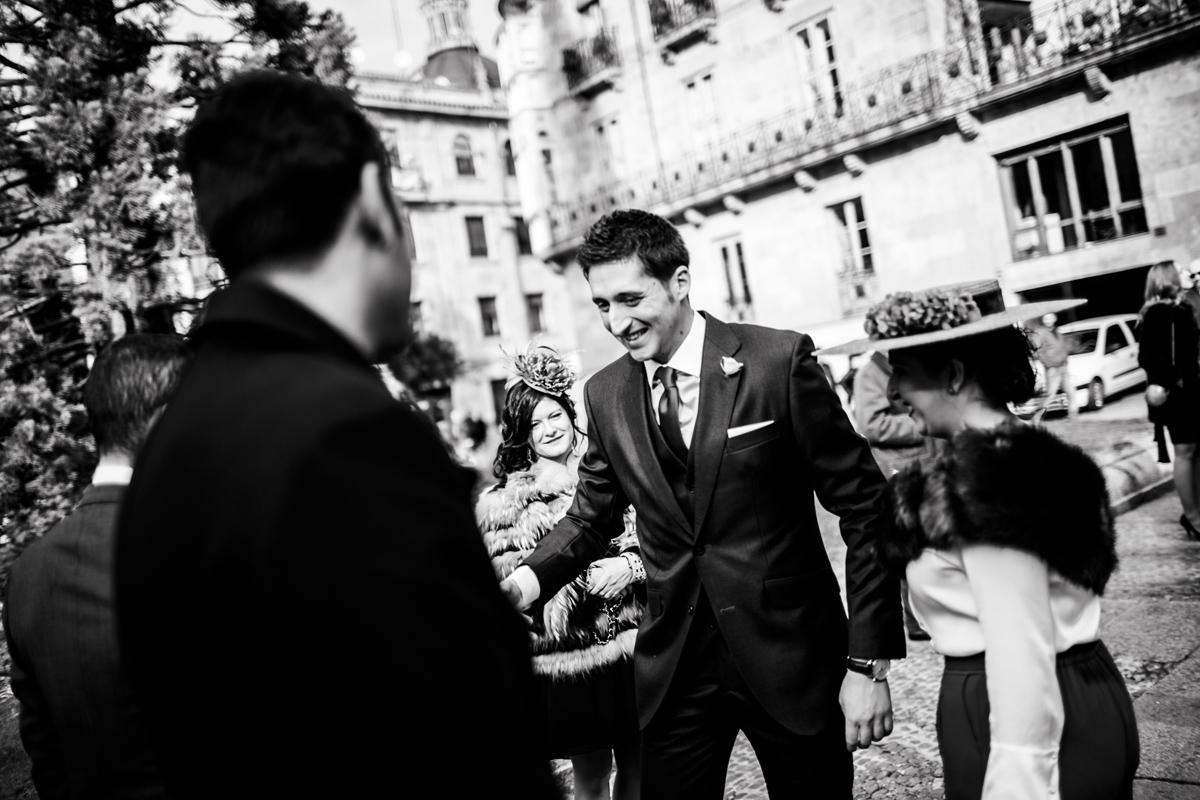 Reportaje de boda de Rafa y Maria en la iglesia de San Sebastián, Fotografo de bodas 23
