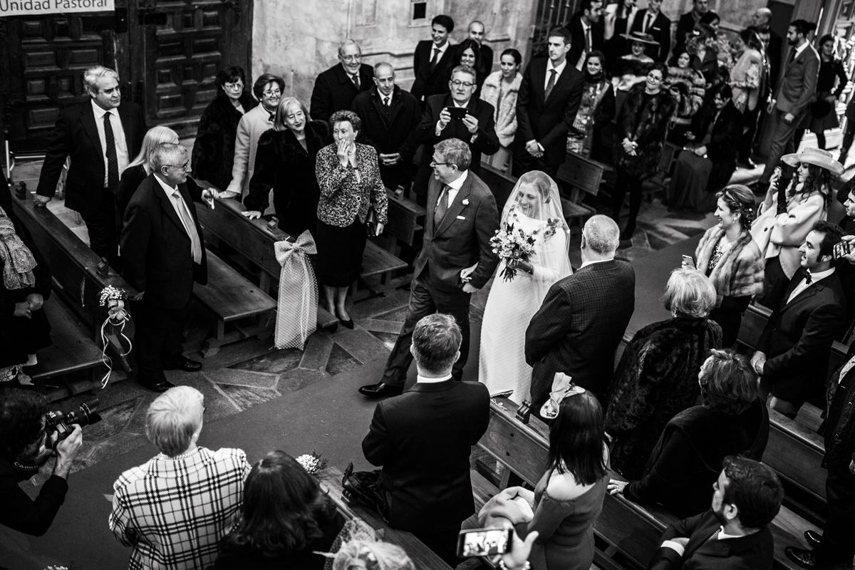 Reportaje de boda de Rafa y Maria en la iglesia de San Sebastián, Fotografo de bodas 27