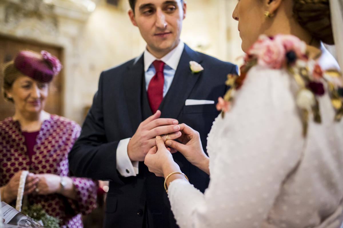 Reportaje de boda de Rafa y Maria en la iglesia de San Sebastián, Fotografo de bodas 32