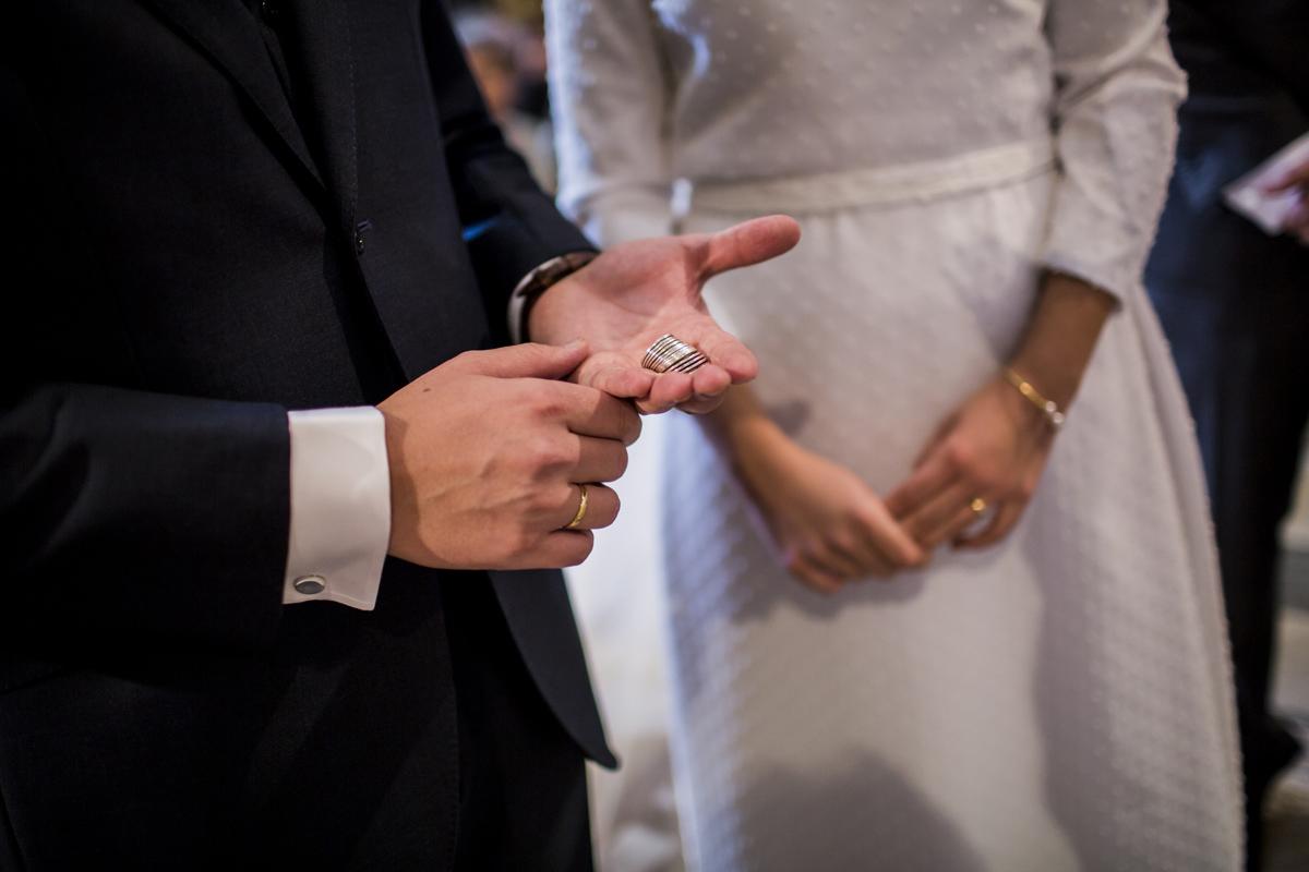 Reportaje de boda de Rafa y Maria en la iglesia de San Sebastián, Fotografo de bodas 33