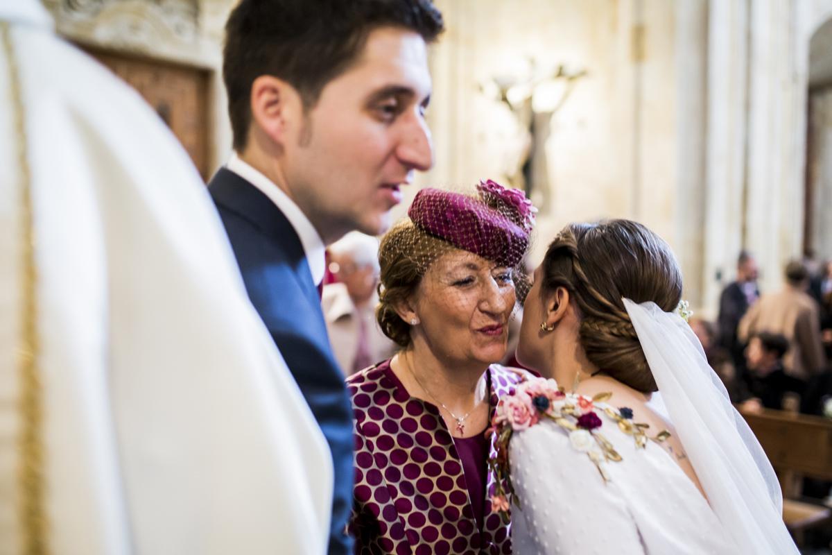 Reportaje de boda de Rafa y Maria en la iglesia de San Sebastián, Fotografo de bodas 35