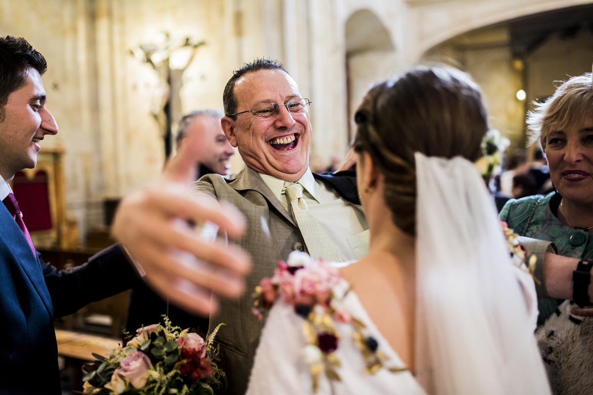 Reportaje de boda de Rafa y Maria en la iglesia de San Sebastián, Fotografo de bodas 39