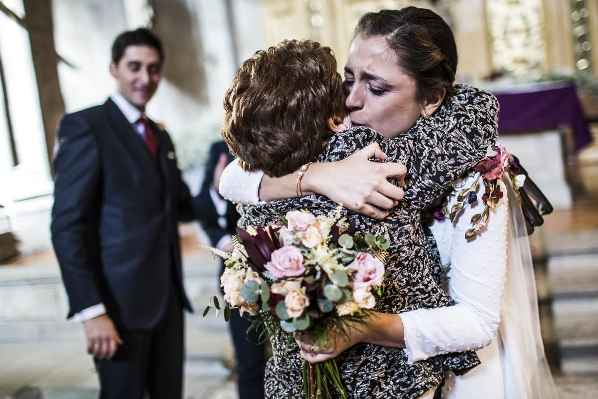 Reportaje de boda de Rafa y Maria en la iglesia de San Sebastián, Fotografo de bodas 40
