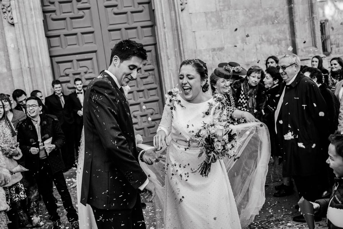 Reportaje de boda de Rafa y Maria en la iglesia de San Sebastián, Fotografo de bodas 42