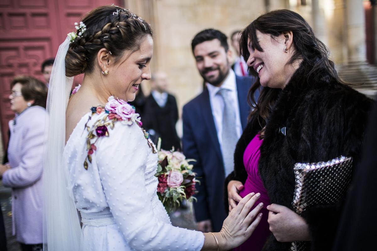 Reportaje de boda de Rafa y Maria en la iglesia de San Sebastián, Fotografo de bodas 43