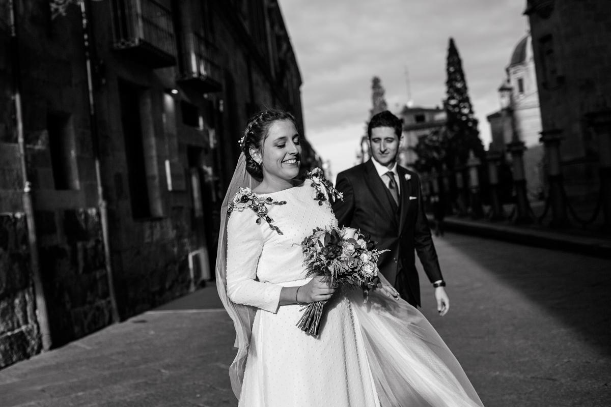 Reportaje de boda de Rafa y Maria en la iglesia de San Sebastián, Fotografo de bodas 46