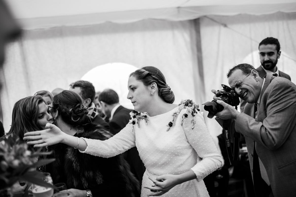 Reportaje de boda de Rafa y Maria en la iglesia de San Sebastián, Fotografo de bodas 50